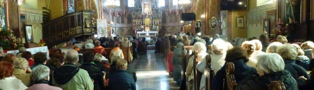 4. Wnętrze bazyliki w Gietrzwałdzie